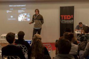 Presentatie op TEDx salon