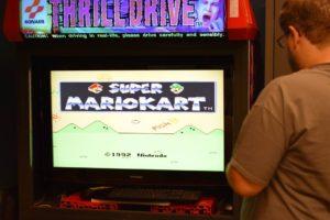 De arcadekast werkt ook nog (half)