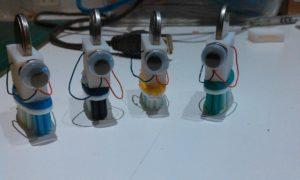 Andere tandenborstelrobotjes die we gemaakt hebben